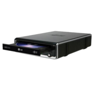 Super Multi External DVD Rewriter, Black 24x / 48x DVD / CD, 0.75MB Bufer, USB 2.0, Retail
