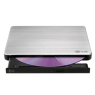 GP60NS50 External Ultra Slim Black 8x / 24x DVD / CD DVD Burner, USB 2.0, Retail