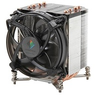 K17 Socket 1150/1155/1156 Active 3U CPU Cooler, 2500 RPM, 2 Ball Bearing, 105W TDP, 110mm Height, Aluminum/Copper
