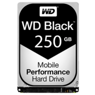 WD Black 250 GB Laptop Hard Drive SATA 6Gb/s 2.5 Inch 7200 rpm 16 MB Buffer OEM
