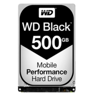 WD Black 500 GB Laptop Hard Drive SATA 6Gb/s 2.5 Inch 7200 rpm 16 MB Buffer OEM