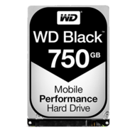 WD Black 750 GB Laptop Hard Drive SATA 6Gb/s 2.5 Inch 7200 rpm 16 MB Buffer OEM