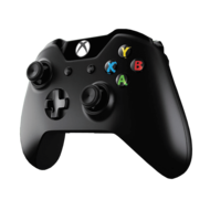 Xbox One Wireless Controller w/ Play & Charge Kit for Windows, 2.4GHz RF, USB, Retail
