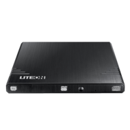 EBAU108 External Slim Black 8x / 24x DVD / CD, DVD Burner, USB 2.0, Retail