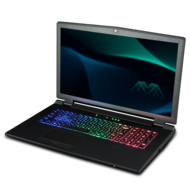 Clevo P770ZM Core™ i7 Gaming Notebook, 17.3