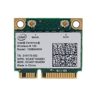 Intel® Centrino® Wireless-N 130 w/ Bluetooth 4.0, IEEE 802.11n, 150 Mbps, Internal PCIe Half Mini Card