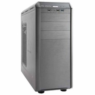 G7 Gray Mid-Tower Case w/ Window, ATX, No PSU, Steel/Plastic
