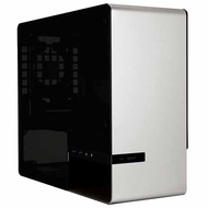 901 Silver Mini-Tower Case w/ Window, mini-ITX, No PSU, Aluminum