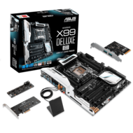 X99-DELUXE/U3.1 Intel X99 Chipset Socket LGA 2011 v3 ATX 1 DDR4 Desktop Motherboard