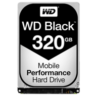WD Black 320 GB Laptop Hard Drive SATA 6Gb/s 2.5 Inch 7200 rpm 32 MB Buffer OEM