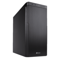 Carbide Series 330R Blackout Edition Ultra Silent, E-ATX, No PSU, Steel, Mid Tower Case