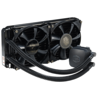 Nepton 280L 2x140mm Fan, Socket 2011-3/1151/1150/1155, FM2/AM3+/AM2+ CPU Liquid Cooling System