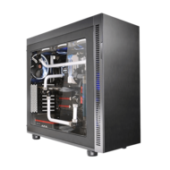 Suppressor F51 E-ATX Mid Tower Tt LCS Certified Gaming Silent Computer Case