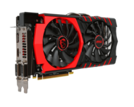Radeon R9 380 4GB 256-Bit GDDR5 PCI Express 3.0 HDCP Ready CrossFireX Support ATX Video Card