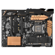 H170 Pro4 Intel H170 Chipset Socket LGA 1151 DDR4 64GB CF /1+1* ATX Desktop Motherboard