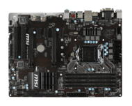 H170A PC Mate LGA 1151 Intel H170 HDMI SATA 6Gb/s USB 3.1 USB 3.0 DDR4 64GB CF / 1+1* ATX Desktop Motherboard