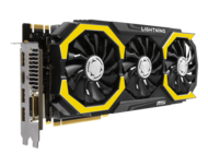GeForce GTX 980Ti LIGHTNING 6GB 384-Bit GDDR5 PCI Express 3.0 x16 HDCP Ready SLI Support Video Card