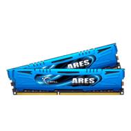 16GB (2 x 8GB) Ares PC3-17000 DDR3 2133MHz CL10 (10-12-12-31) 1.60V SDRAM DIMM, Non-ECC, Unbuffered Memory