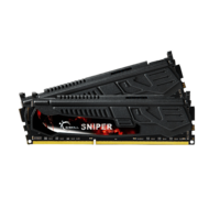 8GB (2 x 4GB) Sniper PC3-17000 DDR3 2133MHz CL9 (9-11-10-28) 1.65V SDRAM DIMM, Non-ECC, Unbuffered Memory