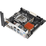 Z170M-ITX/ac Intel Z170 Chipset Socket LGA 1151 DDR4 32GB Mini ITX Desktop Motherboard