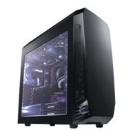 Powered By Intel Haswell Core™ i3 / i5 / i7, Z97 Chipset, 2-way SLI® / CrossFireX™ Compact Gaming Desktop