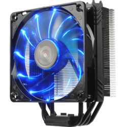 ETS-T40F-BK Blue LEDs, Socket 2011-3/1151/AM3+/FM2+, 162mm Height, 200W TDP, Copper/Aluminum, Retail CPU Cooler