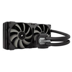 Hydro Series H115i 280mm, Socket 2066/2011-3/1151/AM3+/FM2+, Retail Liquid Cooling System