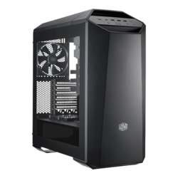 MasterCase Series Maker 5 w/ Window, No PSU, ATX, Black, Mid Tower Case