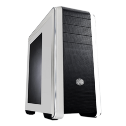 CM 690 Series III w/ Window, No PSU, ATX, White/Black, Mid Tower Case
