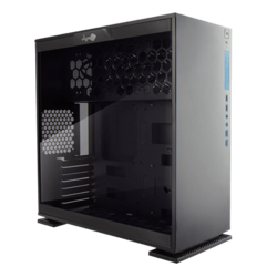 303 Black, Tempered Glass, No PSU, ATX, Mid Tower Case