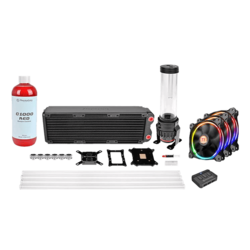 CL-W129-CA12SW-A Pacific RL360 D5 Hard Tube RGB Water Cooling Kit