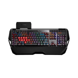 KM780 Series RIPJAWS KM780 RGB, RGB LED Illumination, Cherry MX RGB Brown Switch, 6 Macro Keys, 12 Function Keys, Wired USB, Black, Retail Mechanical Gaming Keyboard