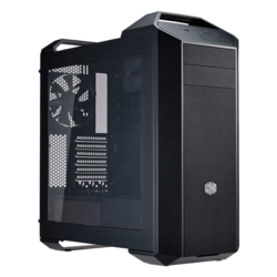 MasterCase Series 5 w/ Window, No PSU, ATX, Black, Mid Tower Case