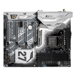 Z270 SuperCarrier, Intel Z270 Chipset, LGA 1151, DDR4 64GB, HDMI, M.2, Thunderbolt 3, ATX Retail Motherboard