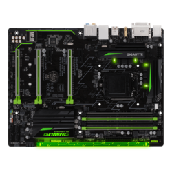 GA-Gaming B8, Intel B250 Chipset, LGA 1151, DDR4 64GB, HDMI, M.2, USB 3.1, ATX Retail Motherboard
