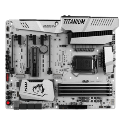 Z270 MPOWER GAMING TITANIUM, Intel Z270 Chipset, LGA 1151, DDR4 64GB, HDMI, M.2, U.2 Port, USB 3.1, ATX Retail Motherboard