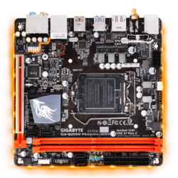 GA-B250N-Phoenix WIFI, Intel B250 Chipset, LGA 1151, DDR4 32GB, HDMI, M.2, USB 3.1, Mini-ITX Retail Motherboard