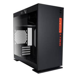 301 Black, Tempered Glass, No PSU, microATX, Mini Tower Case