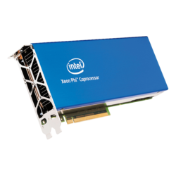Xeon Phi™ 7220P, 68-Core 1.2 - 1.4GHz Turbo, 34 MB L2 Cache, 16GB Memory 500 GB/s, Passive Cooling, PCI Express 3.0 Coprocessor
