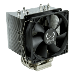 Byakko SCBYK-1000, Socket 1151/AM4/AM3+/FM2+, 130mm Height, Nickel-plated/Copper, Retail CPU Cooler