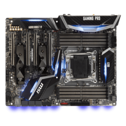 X299 GAMING PRO CARBON AC, Intel X299 Chipset, LGA 2066, ATX Motherboard