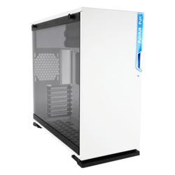 101 White, Tempered Glass, No PSU, ATX, Mid Tower Case