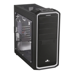 Ostrog Sereis ECA3253-BW w/ Window, No PSU, ATX, Black/White Mid Tower Case