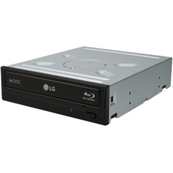 WH16NS40, BD 16x / DVD 16x / CD 48x, Blu-ray Disc Burner, SATA, 5.25-Inch, Black, OEM Optical Drive