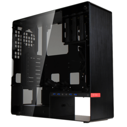 904 Plus Tempered Glass, No PSU, ATX, Black, Mid Tower Case