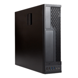 CE685, 300W PSU, microATX, Black, Slim Case