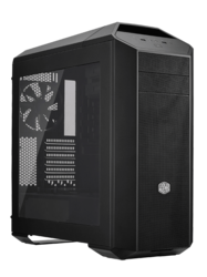 MasterCase Series Pro 5 w/ Window, No PSU, ATX, Black, Mid Tower Case