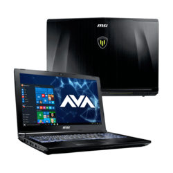 "Workstation Laptop - MSI WE62 7RJ-1828US 15.6"" Core™ i7-7700HQ, NVIDIA® Quadro M2200 Graphics Custom Workstation Laptop"