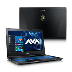 "Workstation Laptop - MSI WS60 7RJ-675US 15.6"" Xeon® E3-1505M v6, NVIDIA® Quadro M2200 Graphics Custom Workstation Laptop"