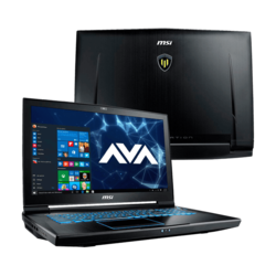 "Workstation Laptop - MSI WT73VR 7RM-648US 17.3"" Core™ i7-7820HK, NVIDIA® Quadro P5000 Graphics Custom Workstation Laptop"